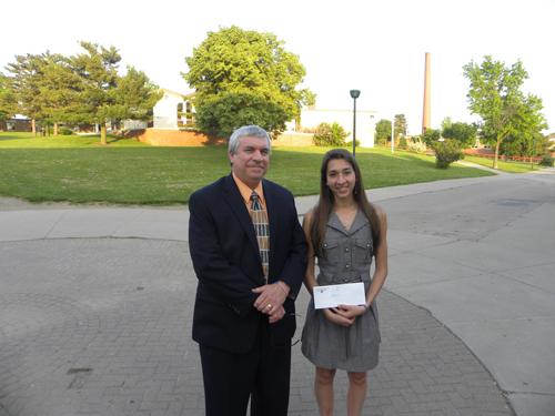 2011 BPHS Ken Waldie Scholarship Winner
